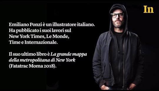 Emiliano Ponzi si racconta su Internazionale
