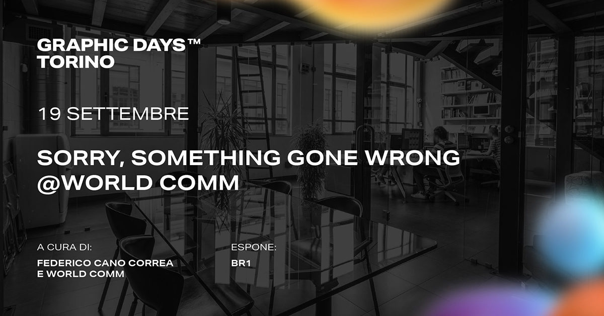 SORRY SOMETHING GONE WRONG – BR1 & CARACOL