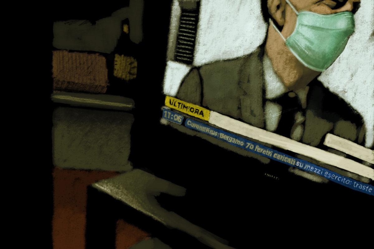 E guardo il mondo da un oblò. Marco Cazzato racconta così la quarantena.